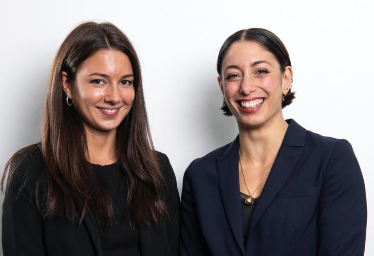 Phoebe Heseltine and Mariam Elgabry