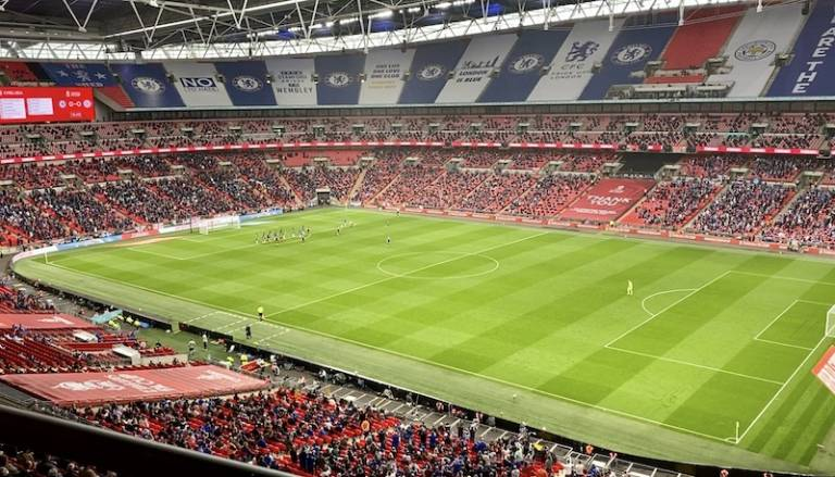 Wembley stadium during the Event Research Trial