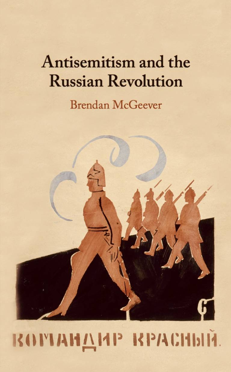 cover of book Antisemitism and the Russian Revolution