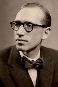 Sepia portrait of Raphael Loewe
