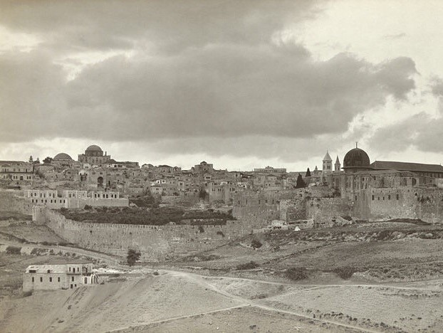 photo of Jerusalem in early 20th century