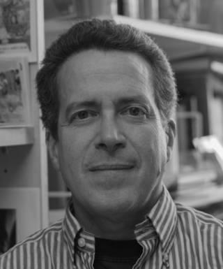 black and white photo of profesor berkowitz