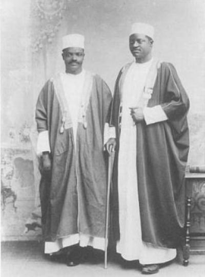 Ham Mukasa and Apolo Kaggwa in London