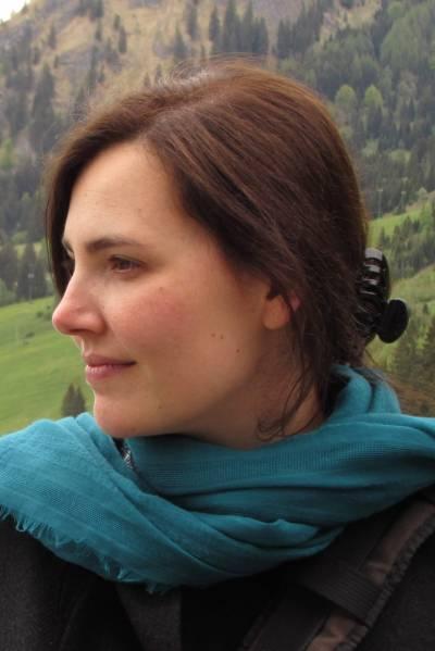 Image in profile of Maria Martin Romera