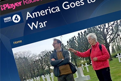 Image of the BBC iPlayer homepage showing Professor Adam Smith