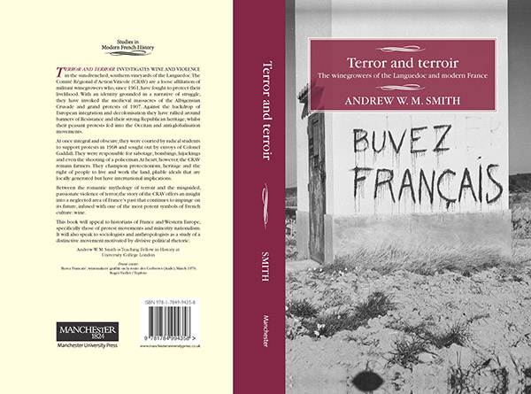 Terror and Terroir book cover