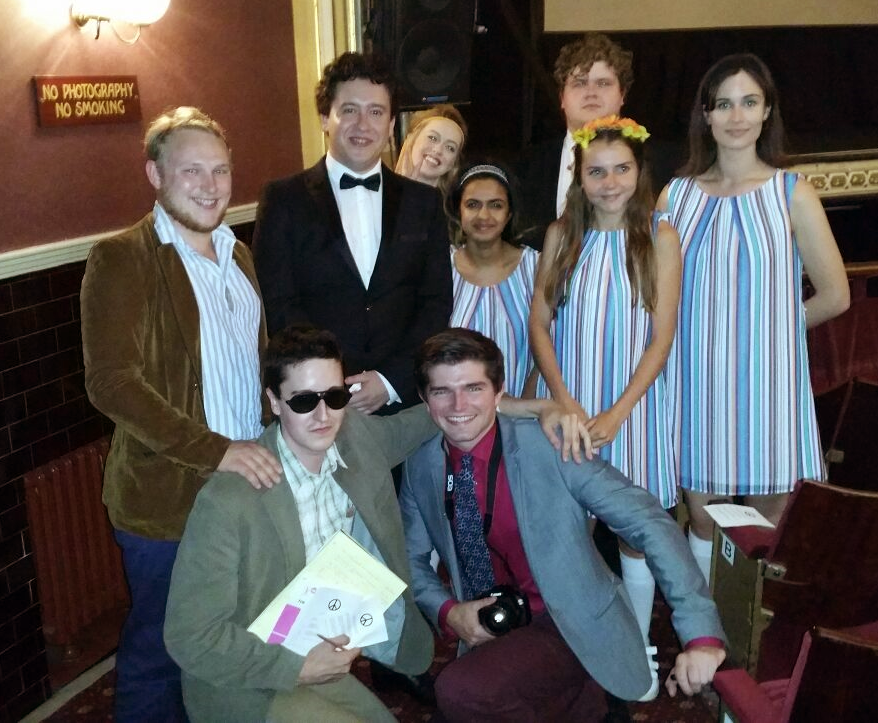 Students at Wakefield Theatre Royal