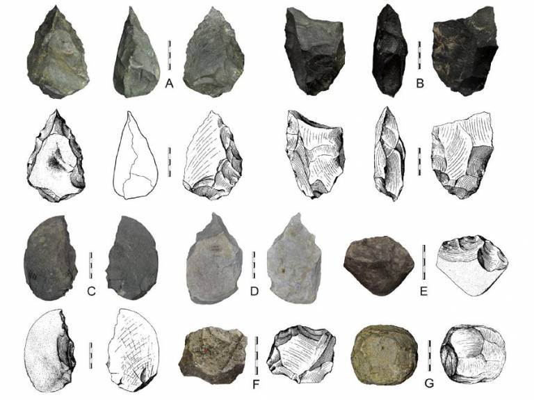 900,000 year old Chinese Handaxes