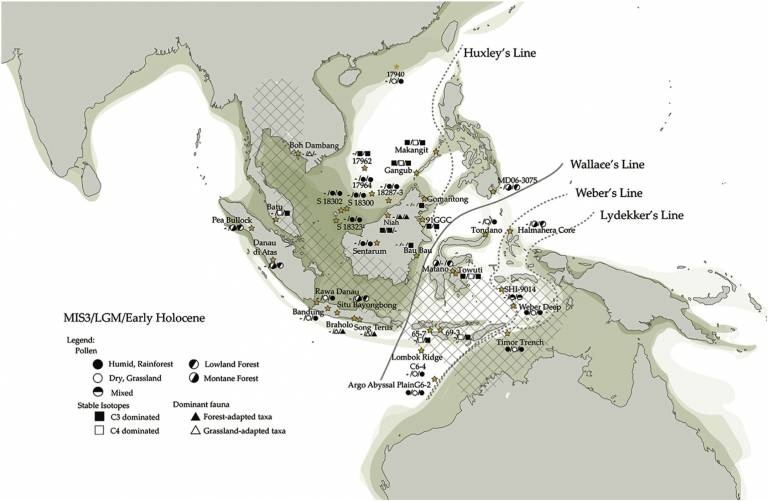 Biogeographic Lines - South-east-Asia
