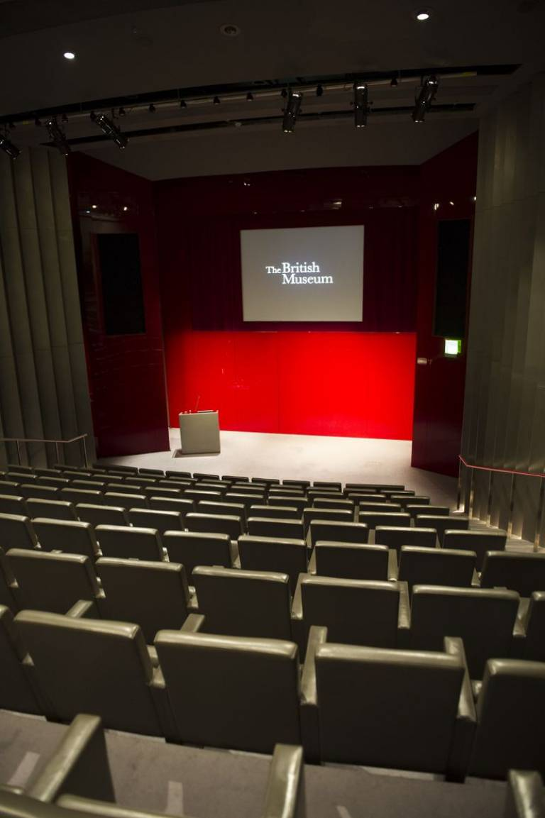 Stevenson Lecture Theatre, British Museum, London