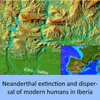 Neanderthal extinction and dispersal of modern humans in Iberia