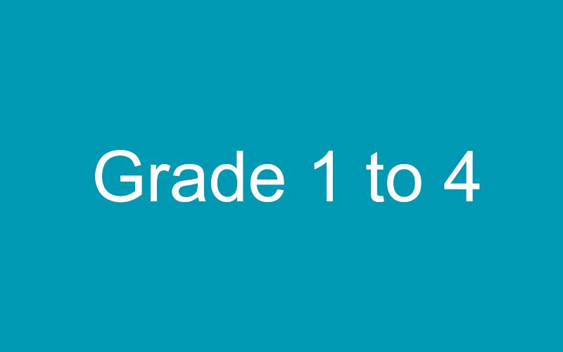 Grade 1- 4