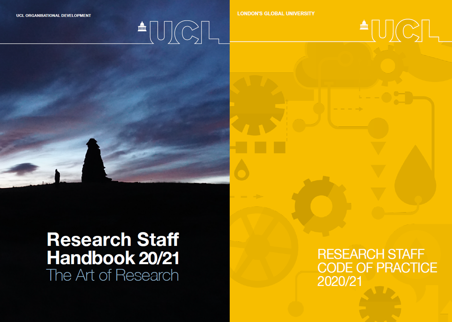 Research Staff Handbook and Code of Practice Covers