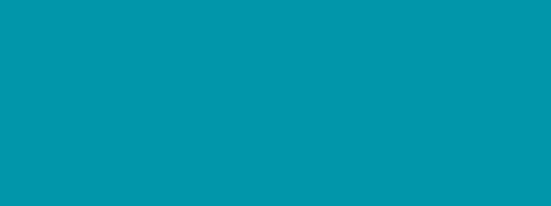 Bright blue banner