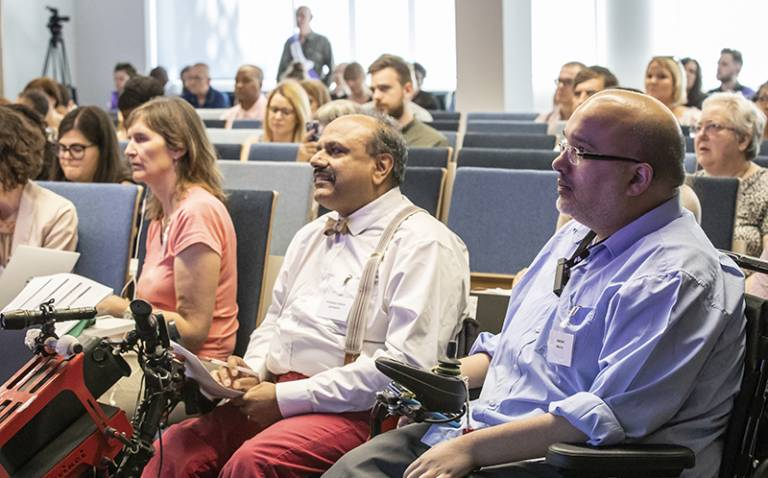 Audience at the National Conference of the National Association of Disabled Staff Networks