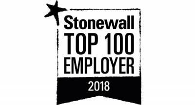 Stonewall 2018 logo