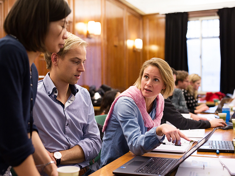 Training session participants