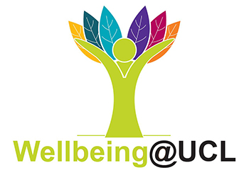 Wellbeing@UCL graphic