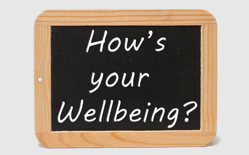 Hows your wellbeing?