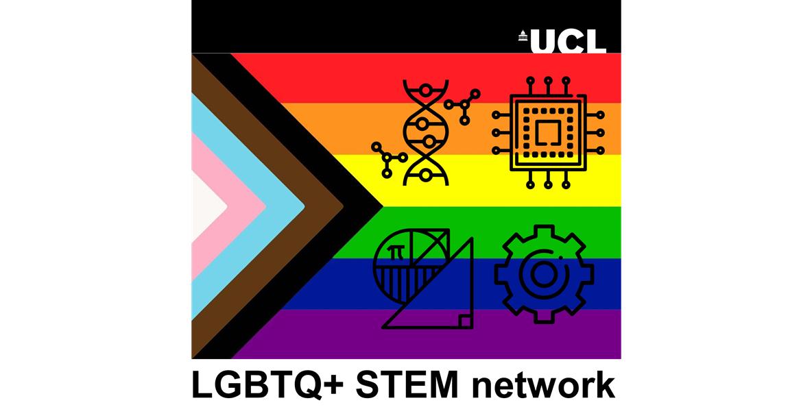 LGBTQ+ STEM @UCL Network logo