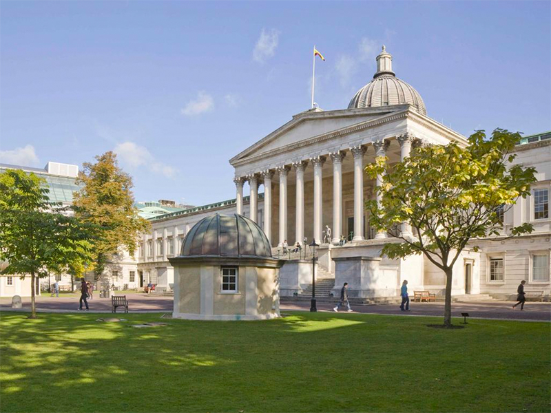 UCL Portico and quad