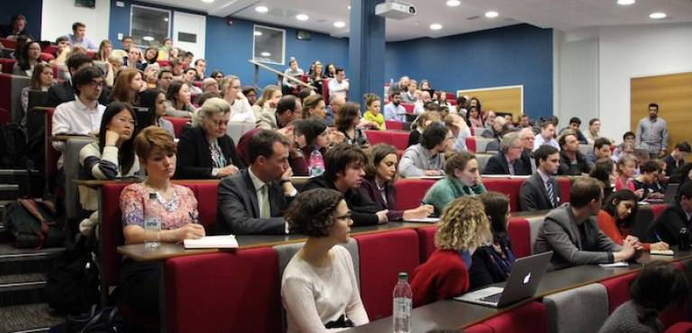UCL Panel Event Audience Photo