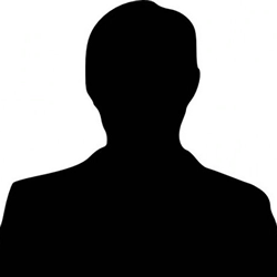 Profile picture place holder, image of a silhouette