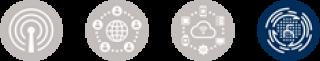 Research theme logos - Sensing, Information and Data Processing