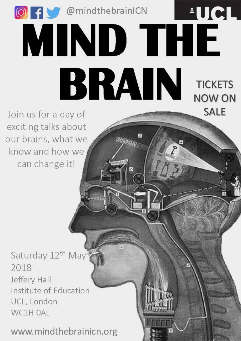 Mind The Brain 2018 Poster