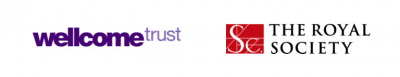 Logos of Welcome Trust and Royal Society