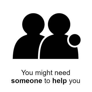 You might need someone to help you