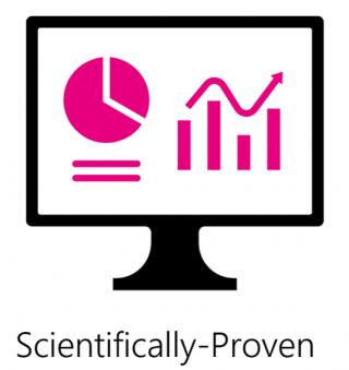 Scientifically proven icon
