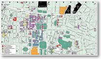 Map: General area around UCL