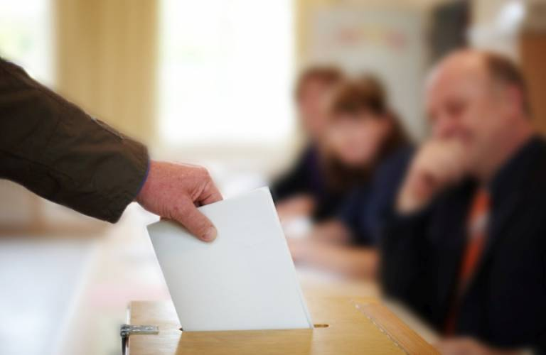 Casting a vote