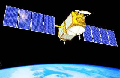 Artist's concept of the joint NASA/CNES Jason-1 ocean altimetry satellite. Credit: NASA/JPL-Caltech