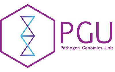 Pathogen Genomics Unit logo