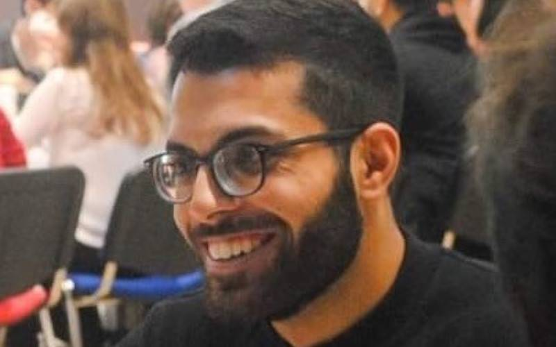 Photo of iBSc student Karan Dahele