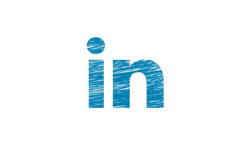 Image of 'in' part of LinkedIn logo