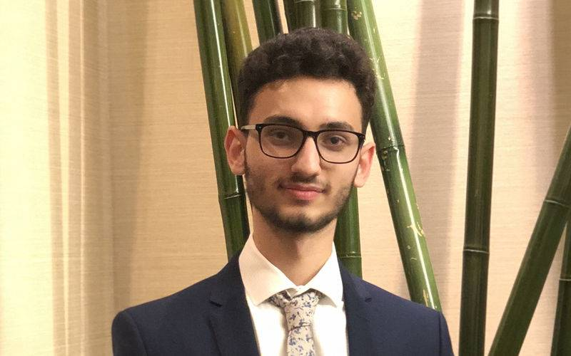 Photo of student Abdallah Abbas