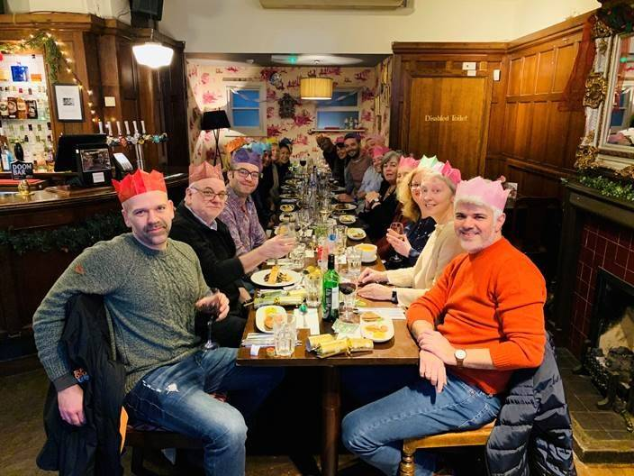 DIS Christmas lunch 2019