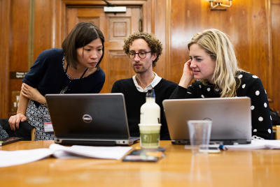 Short course students in UCL DIS