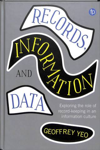 Book cover: Records, Information and Data