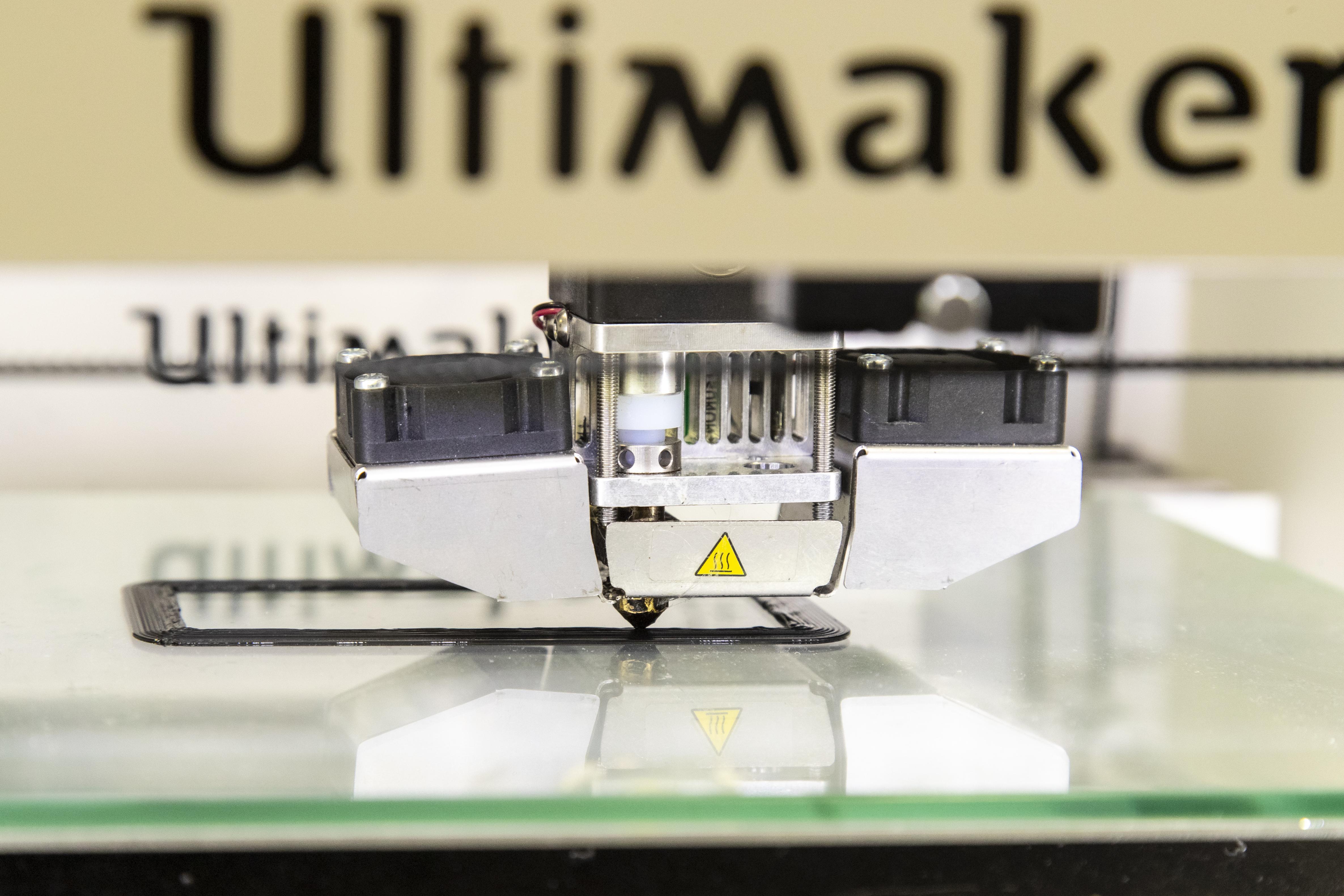 3d printer at the IMD