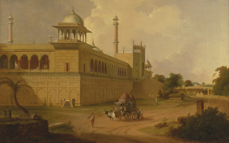 Jami Masjid, by Thomas Daniell
