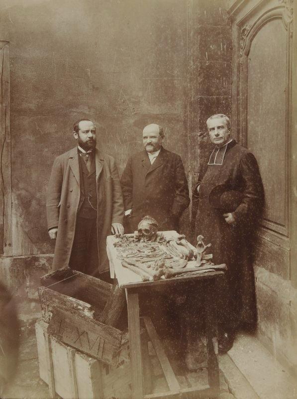 Nadar 1894 Exhumation D'Un Prétendu Louis XVII