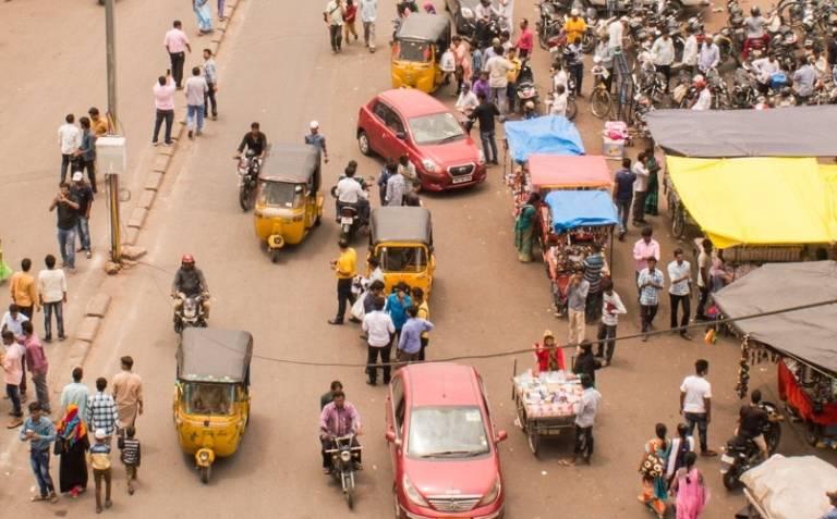 A bazaar in Hyderabad, credit Arihant Daga, Unsplash