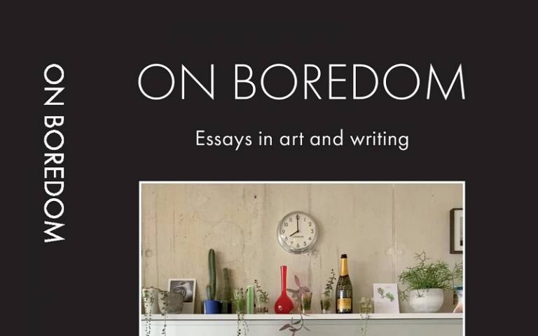 On Boredom book cover - cropped