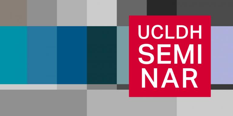 UCLDH seminar logo pixelart