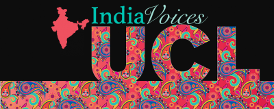 India Voices UCL Logo
