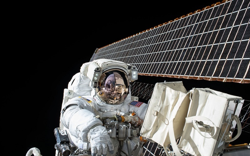 nasa astronaut in space, via unsplash, ucl outer space studies